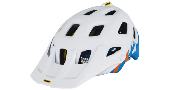 Mavic Crossmax Pro - Casque - bleu/blanc